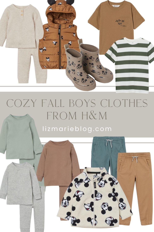 Cozy Fall Boys Clothes