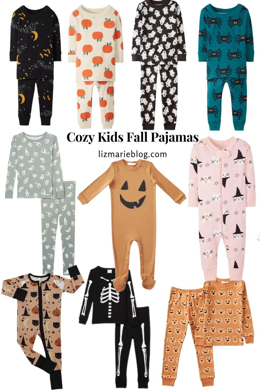 Cozy Kids Fall Pajamas