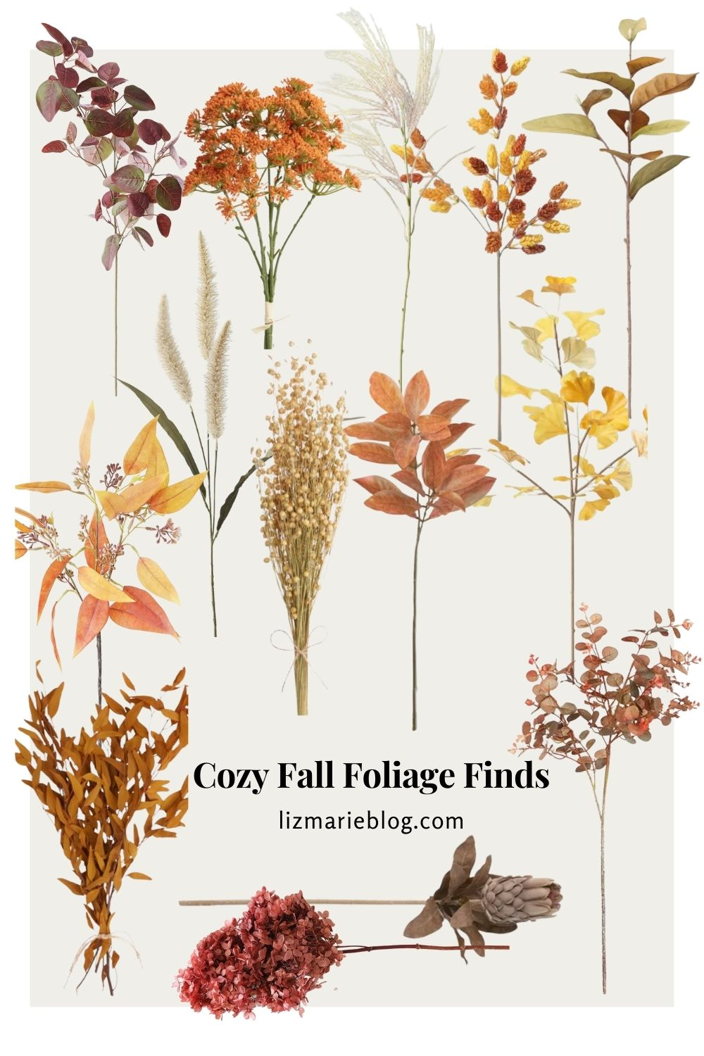 Cozy Fall Foliage Finds