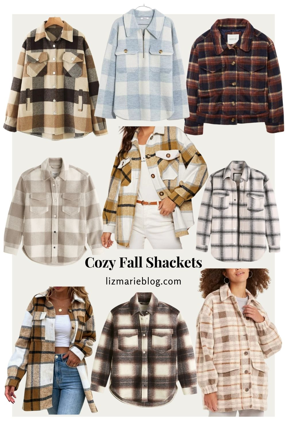 Cozy Fall Shacket Finds