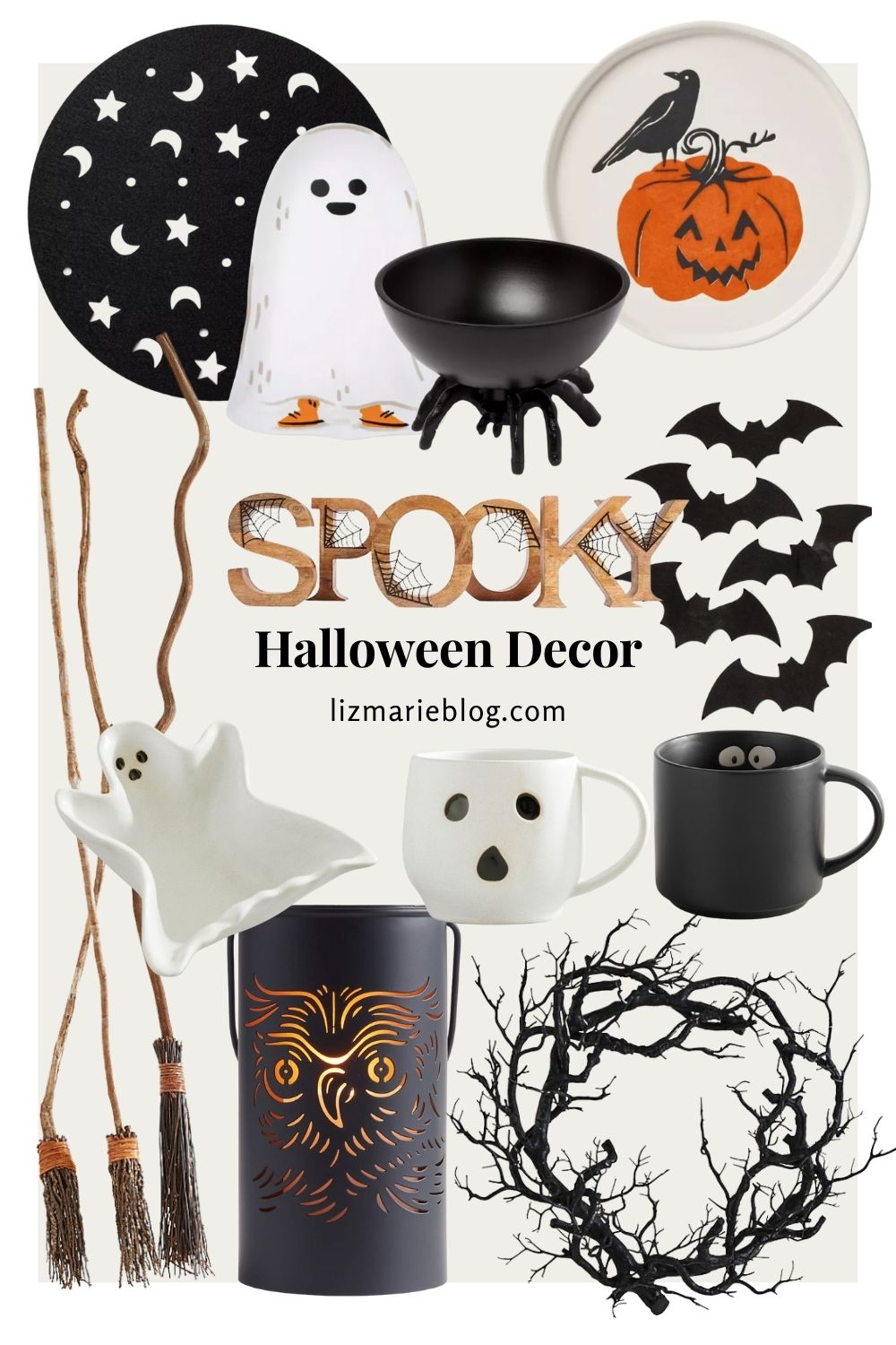 Not-So-Scary Halloween Decor Finds