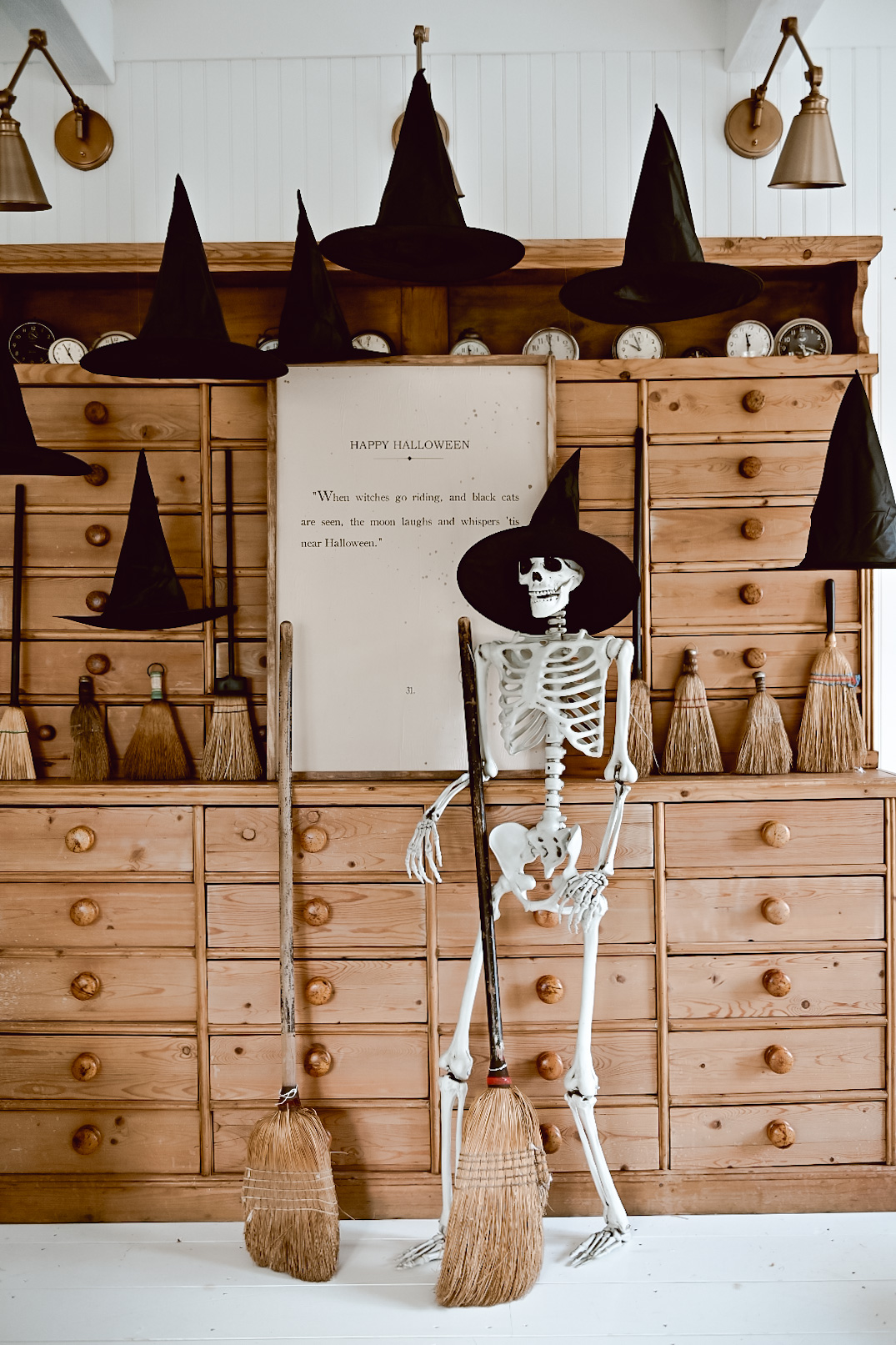 Spooky Witch Antique Corner