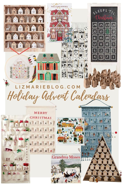 40+ Holiday Advent Calendars